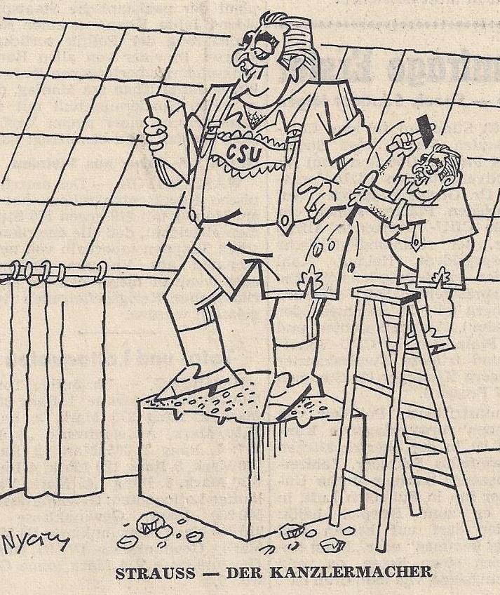 karikatur besatzungszonen